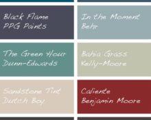 Top 10 Trending Paint Colors of 2018