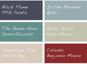 Top 10 Trending Paint Colors of 2018 | Dunlap Team
