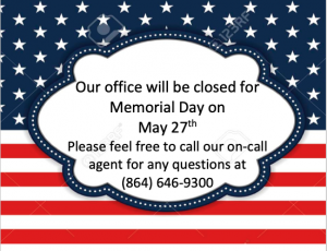 10+ Memorial Day 2019 Clipart Our Office Will Be…