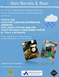 Rain Barrels & Beer @ Carolina Bauernhaus   Anderson   South Carolina   United States